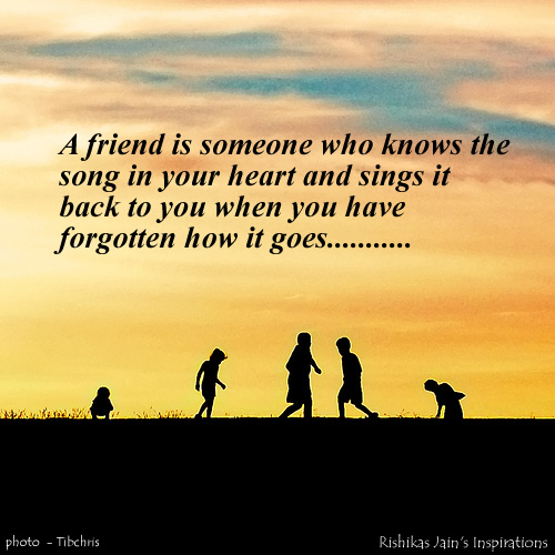 Inspirational Quotes About Friendships: Inspirational Quotes On Friends