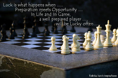 Luck Quotes,Pictures Preparation, Opportunity - Inspirational Quotes and Pictures