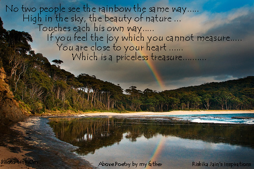 Beautiful Rainbow Quotes- Inspirational Quotes, Motivational Thoughts and Pictures