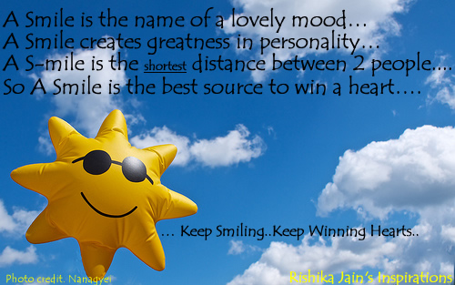lovely quotes on smile. A Smile is the name of a