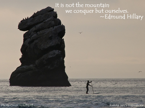 Edmund Hillary Quotes, Inspirational Quotes, Pictures and Thoughts