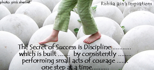 Discipline Quotes, Pictures, Success Quotes, The Secret of Success Quotes - Inspirational Pictures and Motivational Thoughts