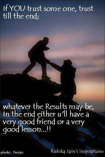 images of trust till the end inspirational picture and motivational quote wallpaper