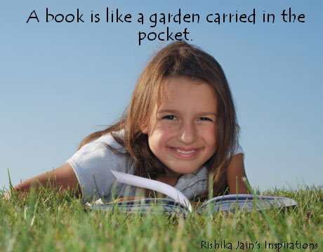 Reading Habits - Success Quotes - Book is like a garden