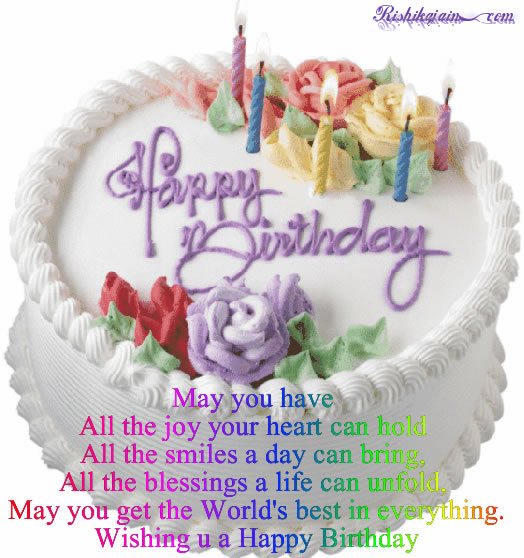 Happy Birthday, Birthday Wishes, Birthday Quotes, Birthday Cake Pictures