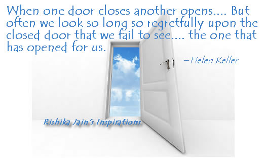 Opportunity Quotes, Success Quotes, Regret Quotes, Helen Keller Quotes