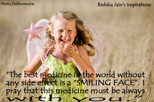 images of the best medicine in world without any side effect is a smiling wallpaper