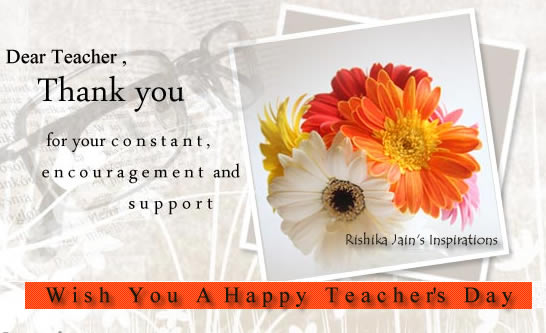 beautiful quotes on teachers. Wish you a Happy Teachers Day.