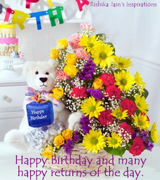 Birthday Wishes , Happy Birthday, Inspirational Quotes, Thoughts and Pictures