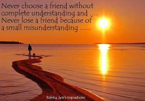 Friendship Quotes Pictures - Never Lose a Friend Inspirational Pictures and Motivational Quotes