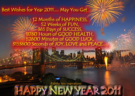 New Year Wishes , Pictures, Wishes Quotes, Inspirational Quotes, Motivational Thoughts ,Pictures