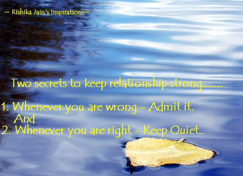 Relationship Quotes, Pictures,Secret for strong relationship,Inspirational Quotes, Motivational Thoughts ,Pictures
