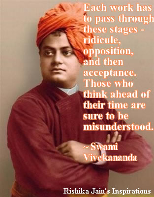 swami vivekananda quotes each work has to pass through