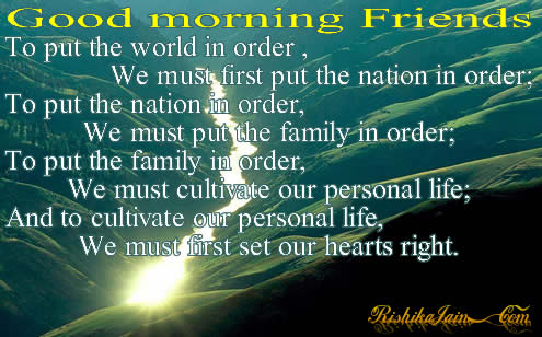good morning quotes for friends. Connection.. Click