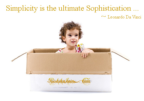 Simplicity is the ultimate Sophistication ~ Leonardo Da Vinci Inspirational Quotes, Pictures, Thoughts