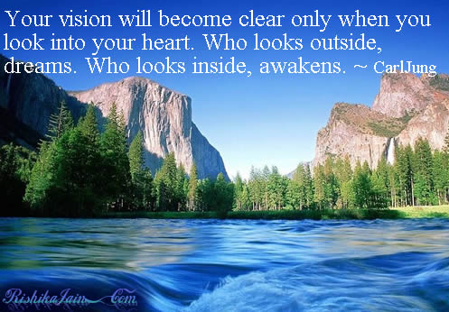 Heart Quotes, Carl Jung Quotes, Dream, Dreams Quotes, Awaken Quotes, Inspirational Quotes, Motivational Thoughts and Pictures