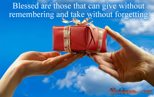 Blessed are those that can give quotes - Inspirational Quotes, Motivational Thoughts and Pictures