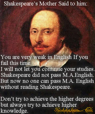 Knowledge Quotes, Learning Quotes, Shakespeare Quotes, Shakespeare's Quotes, Inspirational Quotes, Pictures and Motivational Thoughts