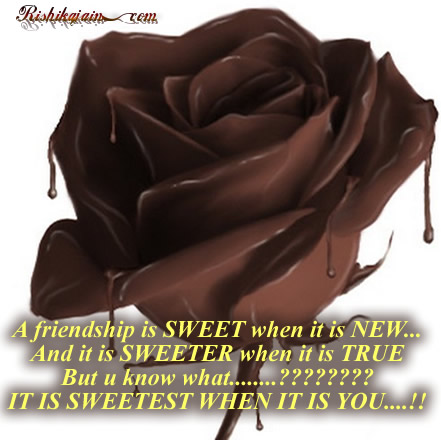 Friendship Quotes, Friend, Friendship day quotes,Sweet Quotes, Rose ...