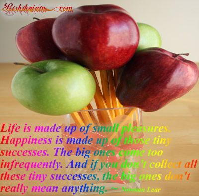 Quotes Happiness, Success,Tiny,Big,Norman Lear, Inspirational Quotes, Motivational Thoughts and Pictures