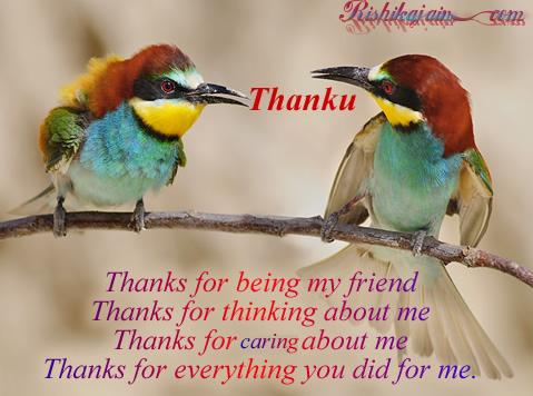 Quotes, Friendship ,Gratitude, Thank You - Inspirational Quotes, Pictures & Motivational Thoughts