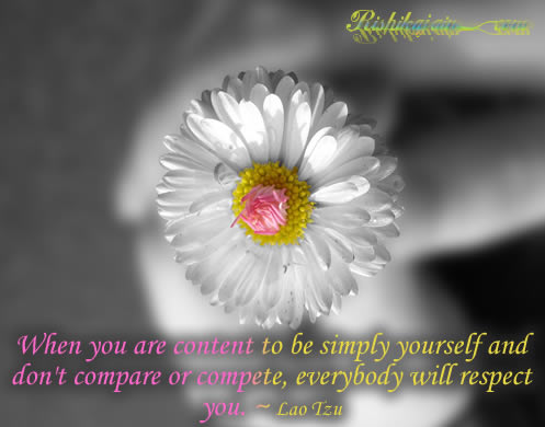 Respect , Content, Lao Tzu, Inspirational Quotes, Pictures & Motivational Thoughts