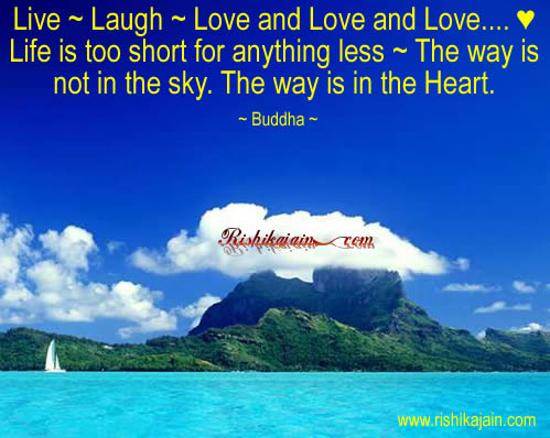 live laugh love and love and love buddha
