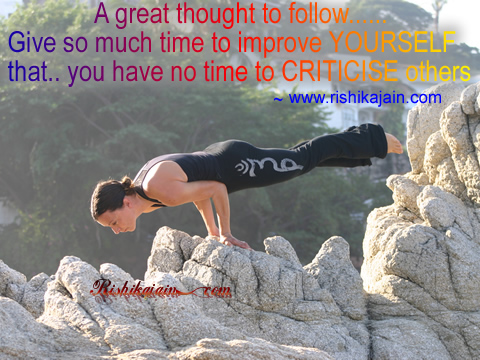 Life , Improve, Criticize, Inspirational Pictures, Quotes & Motivational Thoughts
