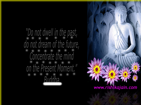 Mind Quotes / Author Quotes –Inspirational Quotes, Buddha Picture and Motivational Thoughts,present moment