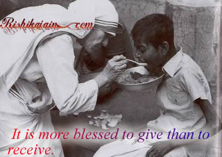 mother teresa,give,receive,Compassion – Inspirational Quotes, Motivational Thoughts and Pictures