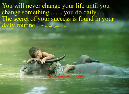 Change Inspirational Quotes on Change Your Life Until You Change Something       Inspirational Quotes