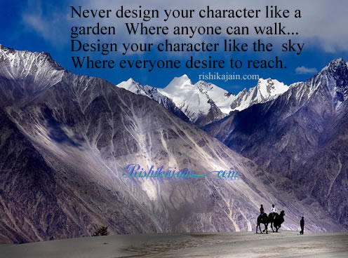 sky ,garden,desire,Character Quotes – Motivational Quotes, Pictures and Thoughts