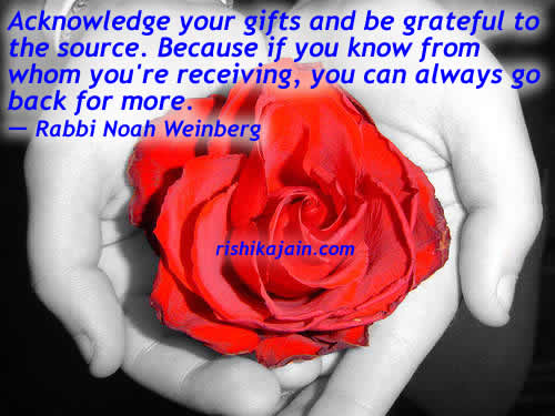 be grateful ,Rabbi Noah Weinberg,Inspire Life – Inspirational Quotes , Motivational Thoughts and Pictures,