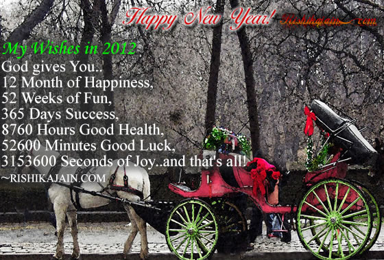 happy new year2012,new year quotes,welcome new year Wishes Quotes - Inspirational Quotes, Motivational Thoughts and Pictures