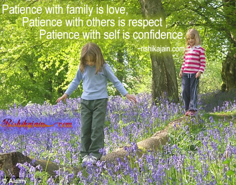 Patience - Inspirational Quotes, Pictures & Motivational Thoughts,family,love,confidence
