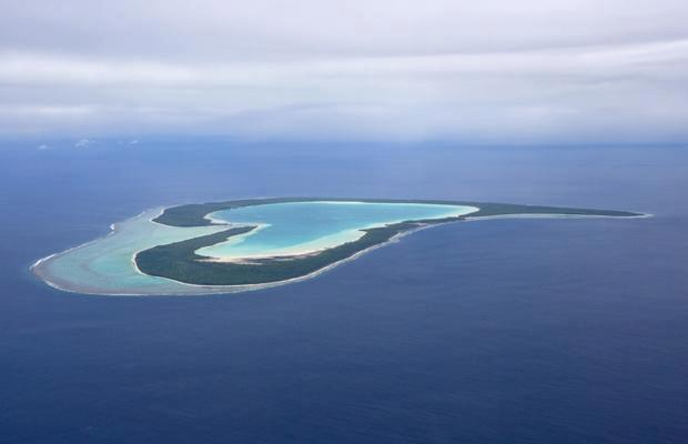 Beautiful Places, Tupai Island, heart shaped , Bora Bora, French Polynesia, Inspirational Pictures, Motivational Thoughts