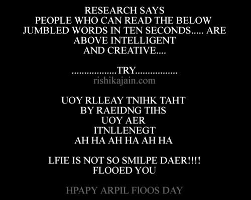 happy April fools day. ,Humor– Life is too short to be serious…. Inspirational & Motivational Quotes, Pictures