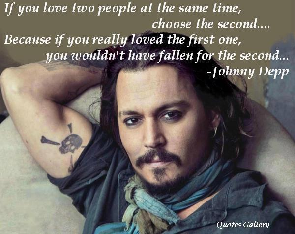 Johnny Depp,Love Quotes – Inspirational Pictures, Quotes and Motivational Thoughts