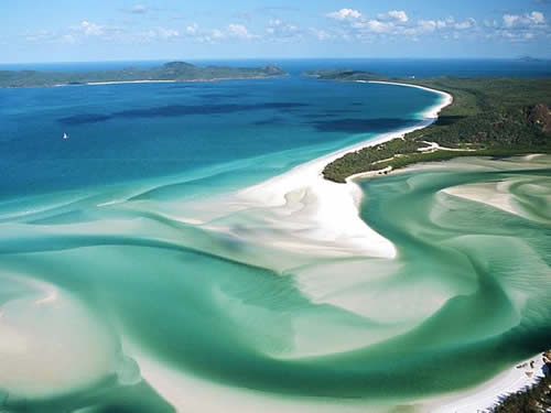 Beautiful Places - Inspire You… Make you feel good… ,Beautiful! Whitehaven Beach, Whitsunday Islands in Australia ,
