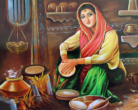 Life / Learning /Inspirational story ,Quotes – Inspirational Quotes, Pictures and Motivational Thoughts,short story,lady making roti,beautiful painting