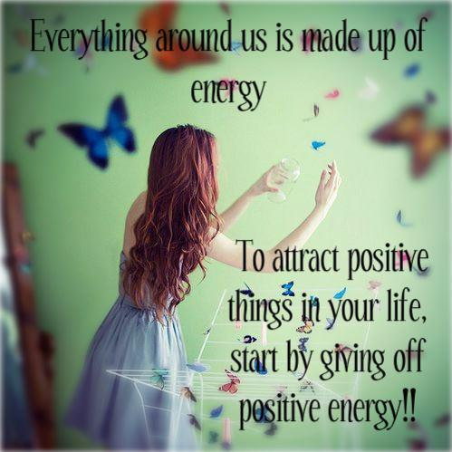 Positive Energy Quote Inspirational Quotes Pictures
