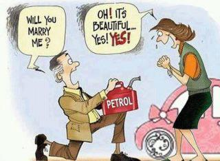 petrol price hike in India, marriage proposal, joke of the day, diesel, oil price, indian economy