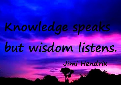 Wisdom / Knowledge – Inspirational Quotes, Pictures & Motivational Thoughts , Jimi Hendrix