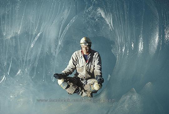 Canadian Rockies.,Beautiful Places ,wonders around the world, Serendipity cave,ice cave