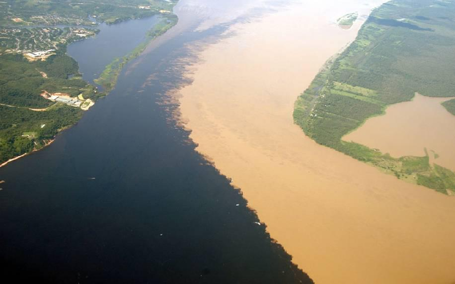 Beautiful Places, river rio negro nd solimoes river