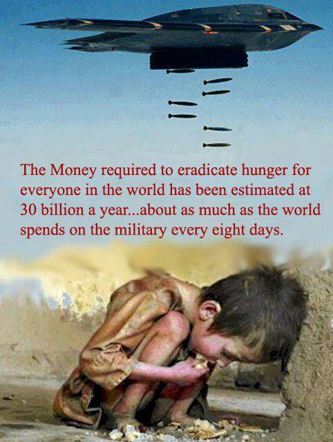 military, war, peace, hunger, poverty, humanity, love, think, say no to war, inspirational quotes, pictures