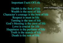 Facts of life , Life quotes , Wisdom quotes, Inspirational Pictures