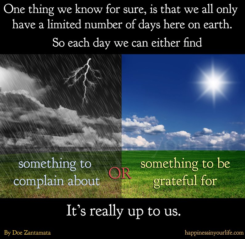 rain,sun,grateful,life,Positive Thinking – Inspirational Quotes, Motivational Thoughts and Pictures