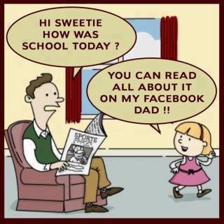 Funny Pics of the Day,Effect of Facebook,Children,LOL, joke of the day, laugh, smile