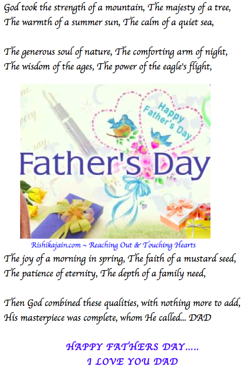 Fathers Day, Wishes, Beautiful Thoughts, Pictures, Quotes, Poem, Dad, Daddy, Papa, June, Father
